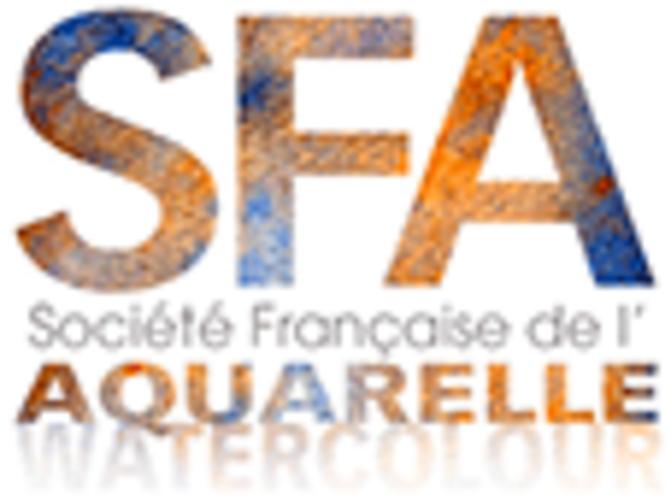 Sennelier, das exklusive Aquarell der Französischen Aquarellgesellschaft logo-sfa-2019-site10