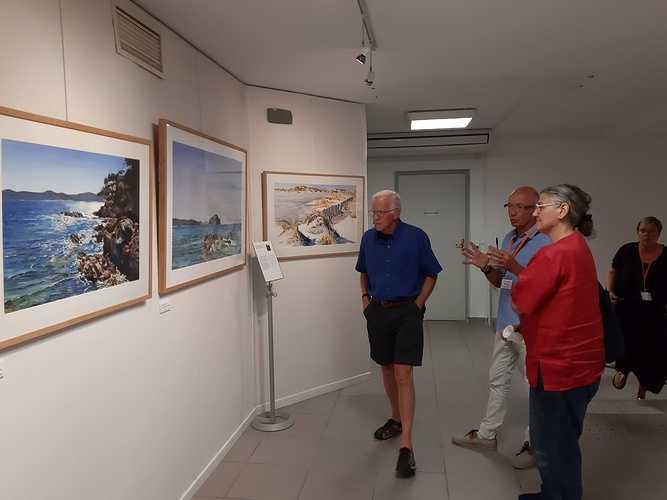 Sennelier, das exklusive Aquarell der Französischen Aquarellgesellschaft visiteurs23-