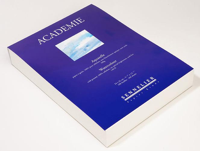 Aquarellblock Académie 0