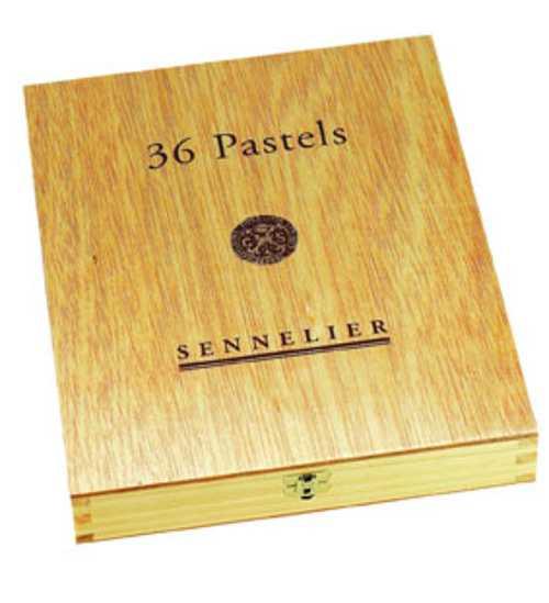 Luxusholzkästen für Pastelle n132105coffretbois36pastelpmferme